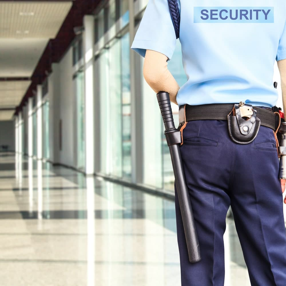 unarmed security officer